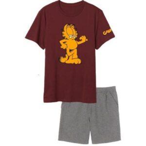 Garfield férfi rövid pizsama XL
