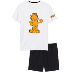 Garfield férfi rövid pizsama M