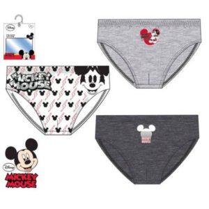 Disney Mickey gyerek fehérnemű, alsó 3 darab/csomag 2/3 év