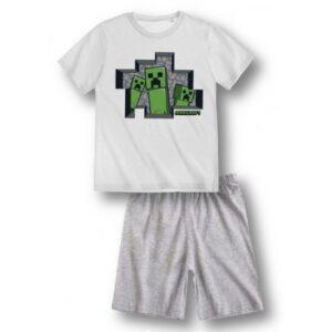 Minecraft gyerek rövid pizsama 8 év