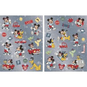 Disney Mickey hologrammos matrica szett