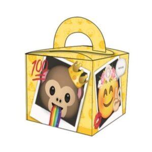 Emoji ajándékdoboz, party box