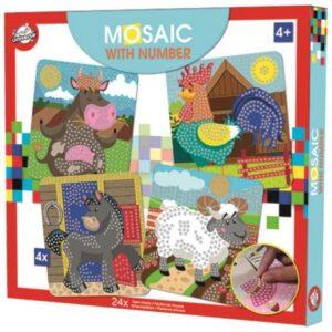Farm habszivacs mozaikos kreatív szett
