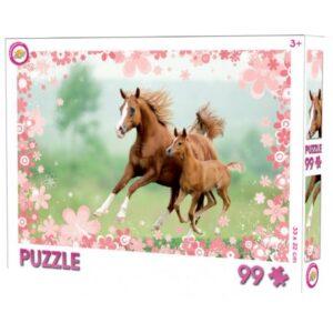 Lovas puzzle 99 db-os