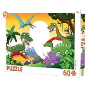 Dinoszaurusz puzzle 50 db-os