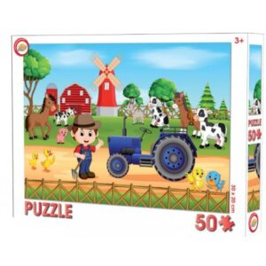 Farm puzzle 50 db-os