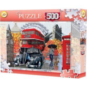 Városok (London) puzzle 500 db-os
