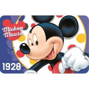 Disney Mickey tányéralátét 43*28 cm