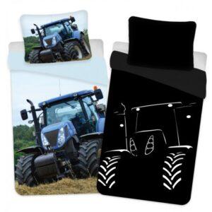 Traktor Sötétben világító ágyneműhuzat 140×200cm, 70×90 cm