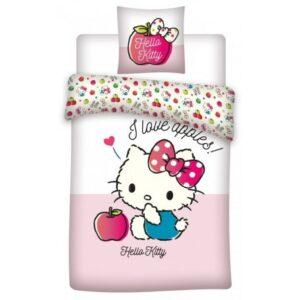 Hello Kitty Gyerek ágyneműhuzat 100×135 cm, 40×60 cm