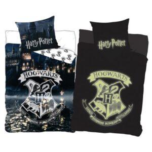 Harry Potter sötétben világító ágyneműhuzat 140×200cm, 70×90 cm