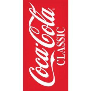 Coca-Cola fürdőlepedő, strand törölköző 70*140cm