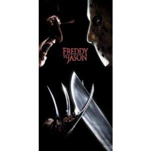 Freddy vs. Jason fürdőlepedő, strand törölköző 70*140cm