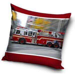 Tűzoltóautó párnahuzat 40*40 cm