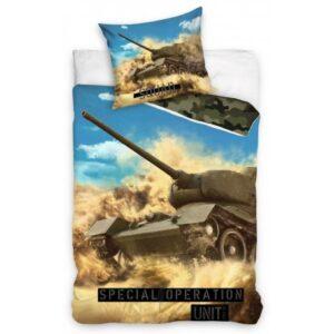 Tank ágyneműhuzat 140×200cm, 70×90 cm
