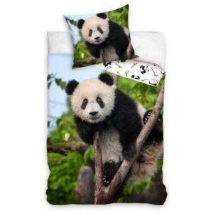 Panda ágyneműhuzat 140×200cm, 70×90 cm