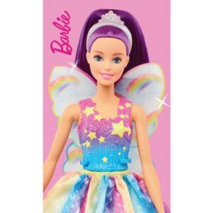 Barbie kéztörlő arctörlő, törölköző 30*50cm