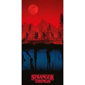 Stranger Things fürdőlepedő, strand törölköző 70*140cm