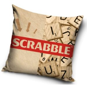 Scrabble párnahuzat 40*40 cm