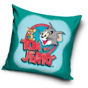 Tom és Jerry párna, díszpárna 40*40 cm