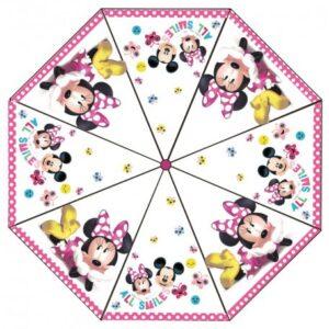 Disney Minnie Gyerek átlátszó esernyő Ø76 cm