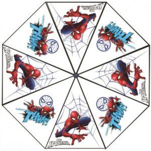 Pókember Gyerek átlátszó esernyő Ø76 cm