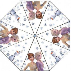 Disney Jégvarázs Gyerek átlátszó esernyő Ø76 cm