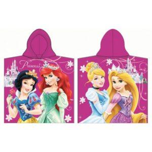 Disney Hercegnők törölköző poncsó 60*120cm