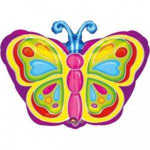Pillangó fólia lufi 45 cm