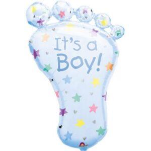 Baby Boy fólia lufi 82 cm