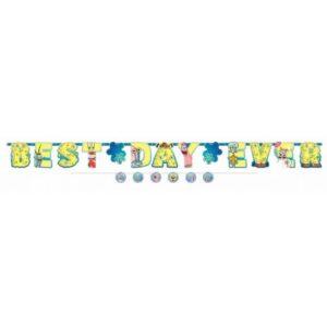 SpongyaBob Happy Birthday Óriás felirat 320 cm
