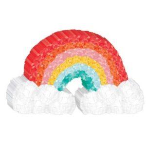 Retro Rainbow mini dekoráció 19 cm