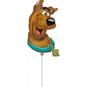 Scooby-Doo mini fólia lufi