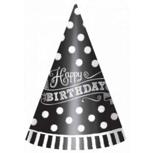 Happy Birthday Parti kalap, csákó 12 db-os