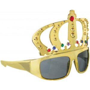 Tréfás korona napszemüveg