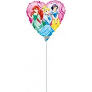 Disney Hercegnők mini fólia lufi