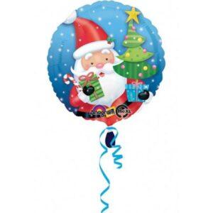 Santa Claus, Télapó Fólia lufi 43 cm
