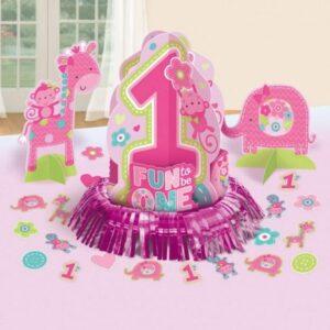 Első születésnap Asztali dekoráció szett