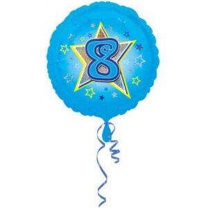 8. Birthday, Születésnap fólia lufi 43 cm