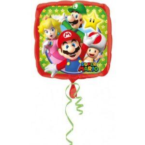 Super Mario fólia lufi 43 cm