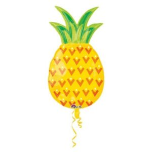 Pineapple, Ananász fólia lufi 78 cm