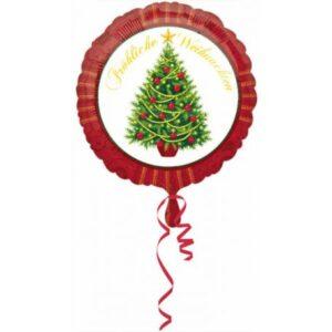 Boldog Karácsonyt Fólia lufi 43 cm