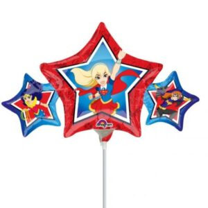 DC Super Hero Girls, Tini szuperhősök Mini fólia lufi