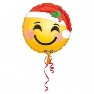 Emoji fólia lufi 43 cm