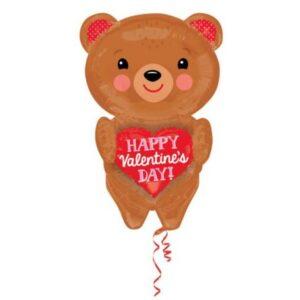 Happy Valentine's Day Fólia lufi 71 cm