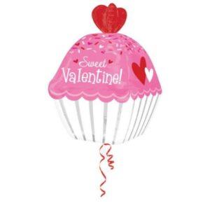 Happy Valentine's Day Fólia lufi 60 cm