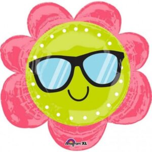 Sun Flower, napraforgó fólia lufi 68 cm