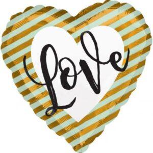 Love Fólia lufi 43 cm