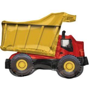 Dump Truck, Dömper fólia lufi 81 cm