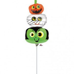 Halloween Mini fólia lufi